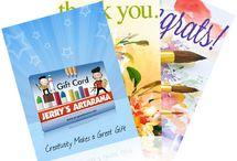 Creative eGift Cards