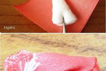 Tutorial flower ribbon / Rose ribbon