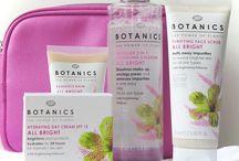 Organic or Botanic Beauty Products