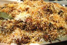 Beryani/ middle eastern rice/ Turkish rice