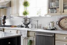kitchen ideas / by Julie Schroeder Lamoureux