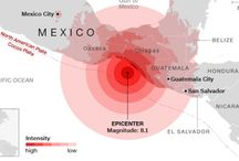 Mexico's strongest earthquake in a century leaves dozens dead