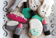 girls & party cookies