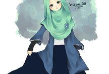 Muslim Cartoon Art