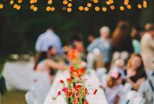 wedding love. reception