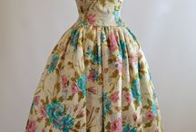 Vintage Style / Beautiful dresses from 1950's and 1960's