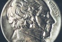 ANGELO, ORAZIO * VARIOUS CARVINGS: HOBO NICKELS