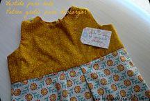 Baby & Kids' clothes tutorials / Tutoriales ropita bebé y niños / Tutoriales gratuitos para hacer ropita para los más pequeños de la casa