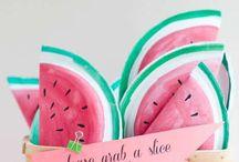 invitation Watermelon