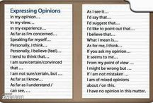 Opinion (give your)