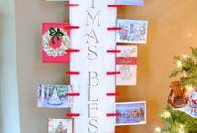 Card Displays / Christmas card display