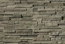 Pro-Fit® Alpine Ledgestone: Cultured Stone® by Boral® / Pro-Fit® Alpine Ledgestone provides a rustic outdoor look that's easy to install. This precise, rugged Ledgestone texture provides color and shadow creation for a variety of design opportunities.