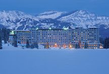 Mini time Dream Holiday / #MinitimeDreamHoliday My husband would love to have a ski vacation, but I would love to have a place to relax and fun activities for the kids too. Lake Louise/Banff has options for everybody!