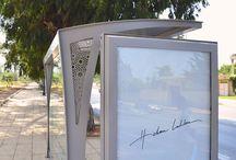 Bus shelters Rabat