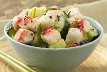 Summer Surimi Salads