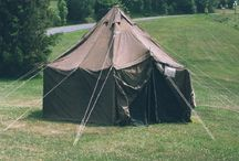 Military Surplus Tents / Military Tents and Relief Tents. Small, medium and large.