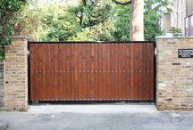 Gate cover / fill