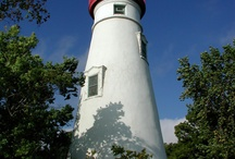 Lighthouses / Have a good memory there with some special people in my life.