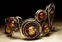 Cool Jewelry / Eclectic, cool jewelry, including bohemian, steampunk, rock and whimsical. Mostly vegan. Some DIY tutorials. (No Tumblr pics! I strive for original sources so the designers get credit and we can buy the products.) / by Leigh Ann Hubbard