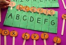 Δραστηριότητες με γράμματα