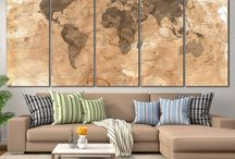 Wall World Map