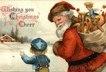 Natale Vintage- Babbo Natale