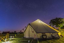 Wedding Bells / Beautiful Bell tents for your wedding day.