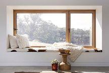 inspiración | ventanas+huecos / Permeabilidad. Relación entre el interior y el exterior.