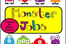 Monster Theme Classroom / All the ideas to have a monster theme classroom
