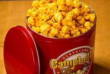 Gourmet Popcorn Tins / Ordering a tin of Campbell's Sweets gourmet popcorn is easy! Simply select your preferred size, style, and flavors - we'll handle the rest.