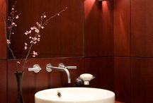 Bathroom inspirations / by Natalie Mandarano