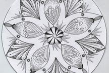 Mandalas en doodles