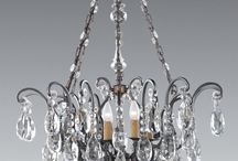 18th Century Inspired Crystal Lighting