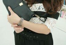 Genuine Leather Handbag - 127 / http://vivihandbag.com