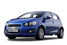 Chevrolet Aveo | Car Rental Cape Town / Get a good look at the Chevrolet Aveo. Available to hire from Car Rental Cape Town.