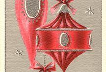 Vintage holiday cards / cards from the past / by Lynn Mair