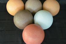 Colored Concrete Art / Beautiful examples of creating art using colors from the Davis Colors concrete pigments