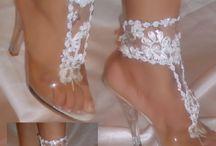 pies descalzos para. novia
