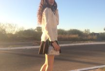 Looks / Blog post about my favorites outfits. Outfits for winter, summer, fall and spring.