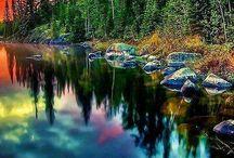 mooie reflecties