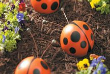 Ladybug Lovers / Gotta love those cute little red bugs with their black polka dots!