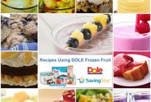 Frozen Fruit goodness / by Dole Packaged Foods