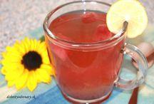 Pečené čaje-recepty