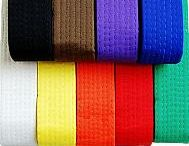 Martial Arts Belts and Sashes