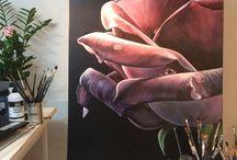 Lindas Konstsida/ Linda's Art Page