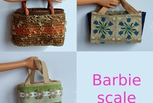 Barbie minis / Minis made by me or other people for Barbie dolls scale