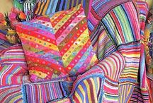 Kaffe Fassett / ...i love color, and so i follow kaffee fassett because he is the definition of {C O L O R}!!! / by Dianne Shiozaki