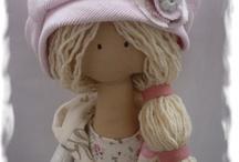 Tilda panenky / panenky, zvířátka,....