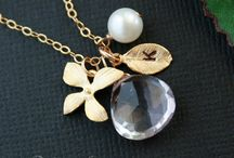 Jewelry! / You mustn't be afraid to sparkle a little brighter, darling! / by Jeri Frank