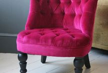 Pink Chairs ♥ Couch